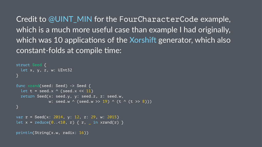 Credit'to'@UINT_MIN'for'the'FourCharacterCode'e...