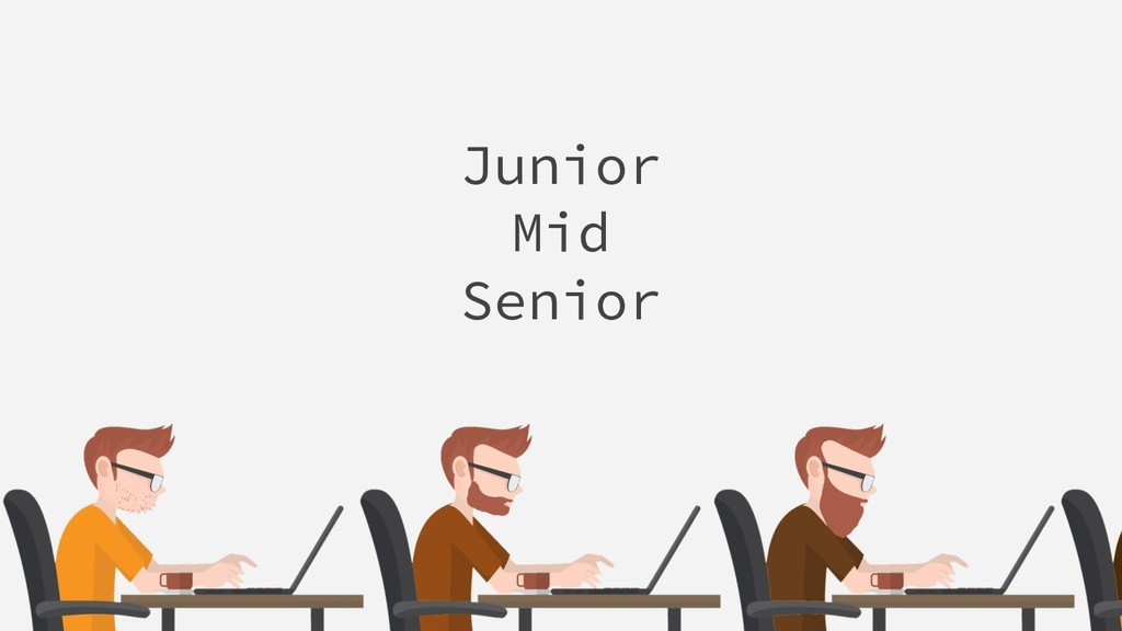 Junior Mid Senior