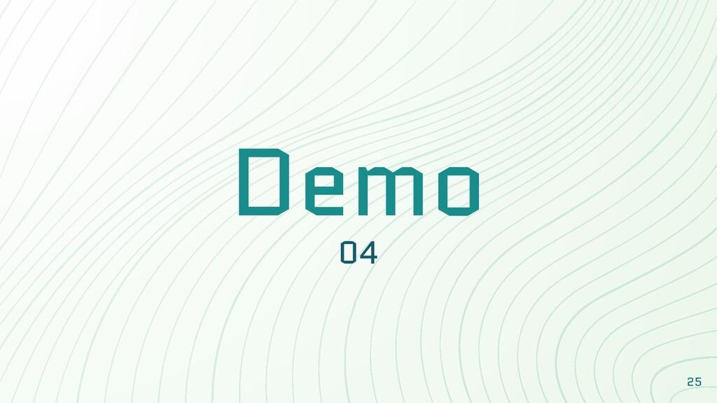 Demo 04 25