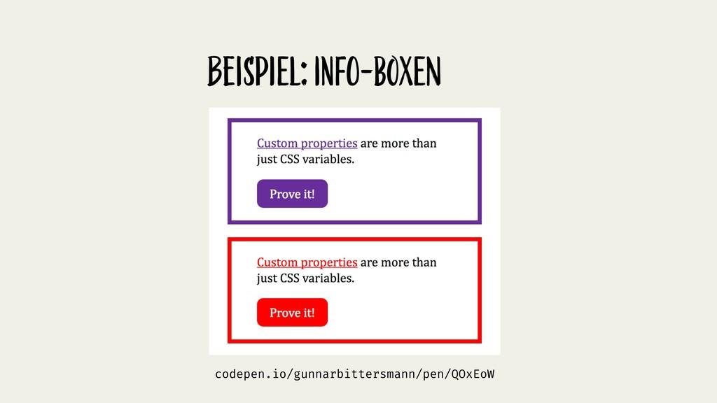BeispiEl: info-boxEn codepen.io/gunnarbittersma...