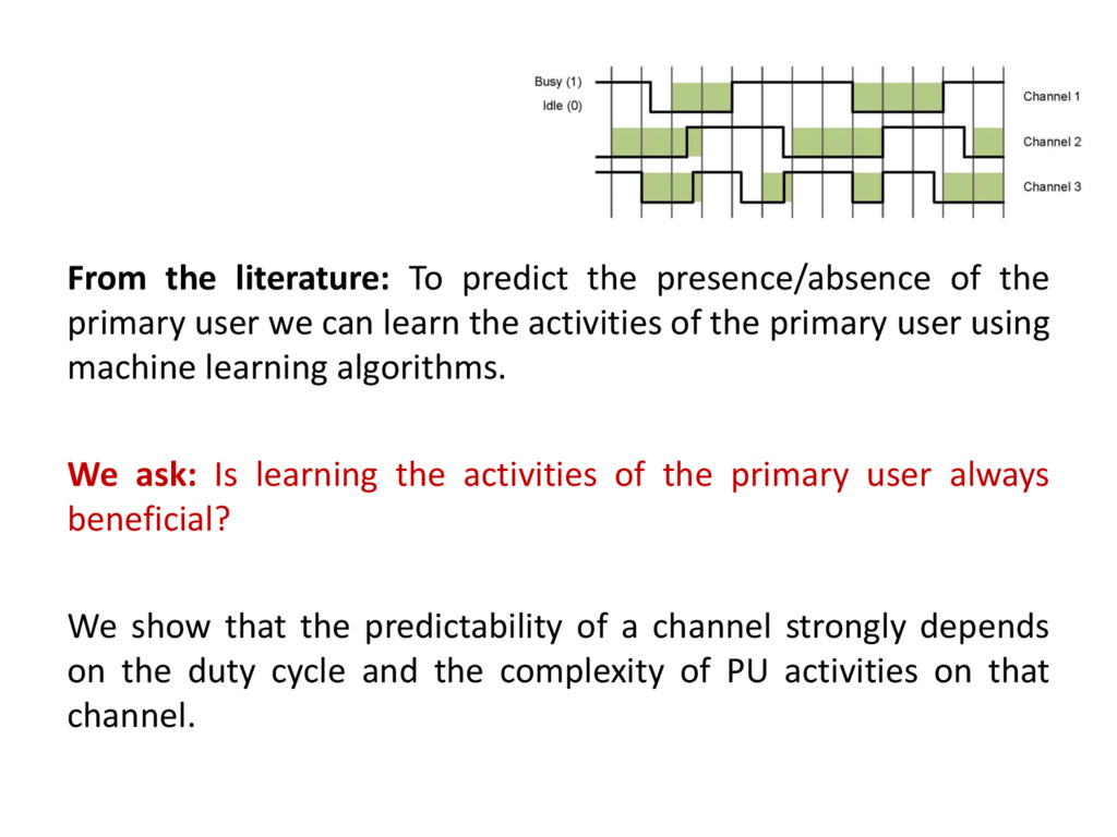 From the literature: To predict the presence/ab...