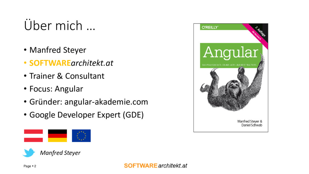 Über mich … • Manfred Steyer • SOFTWAREarchitek...