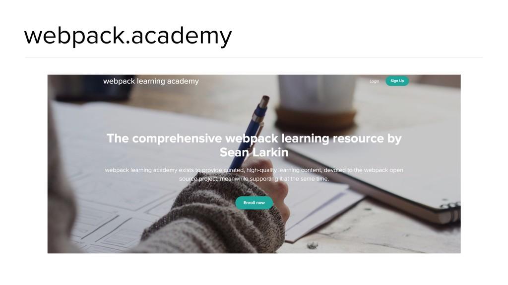 webpack.academy