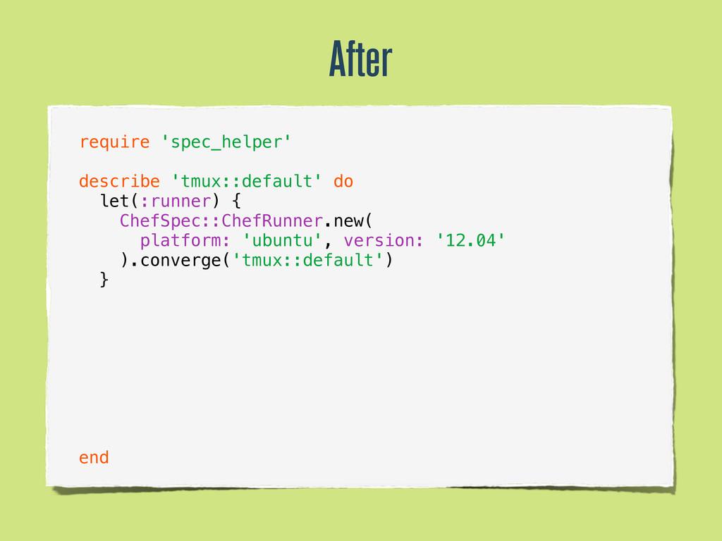 require 'spec_helper' describe 'tmux::default' ...