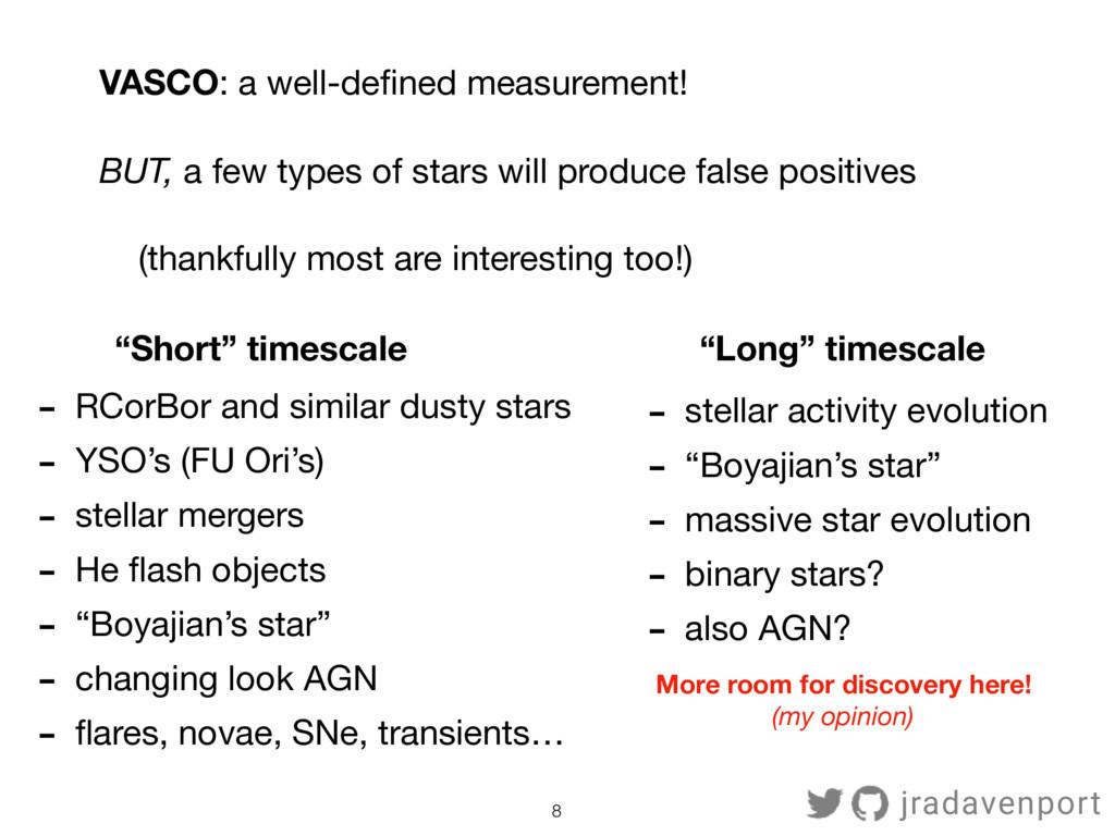 8 - RCorBor and similar dusty stars  - YSO's (F...