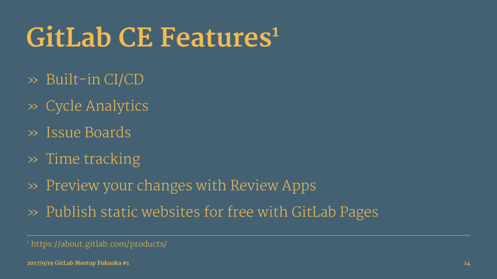 GitLab CE Features1 » Built-in CI/CD » Cycle An...