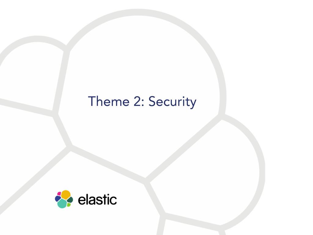 Theme 2: Security