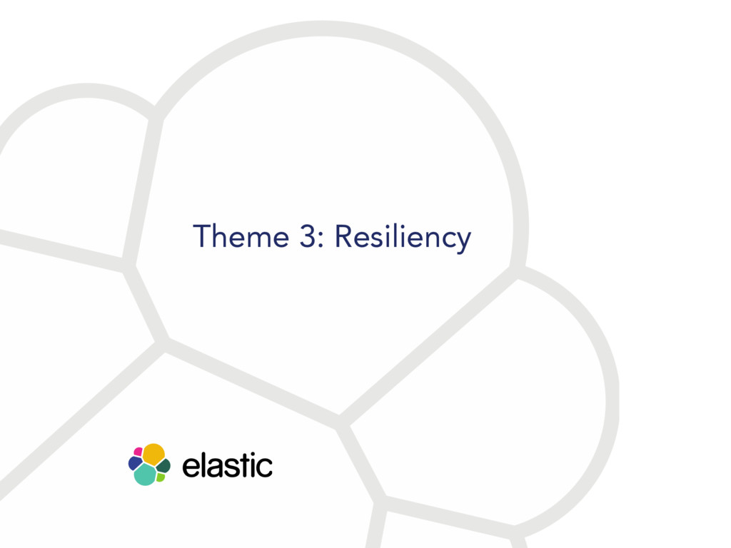 Theme 3: Resiliency