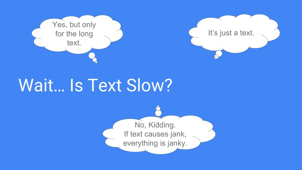 Wait… Is Text Slow? It's just a text. No, Kiddi...