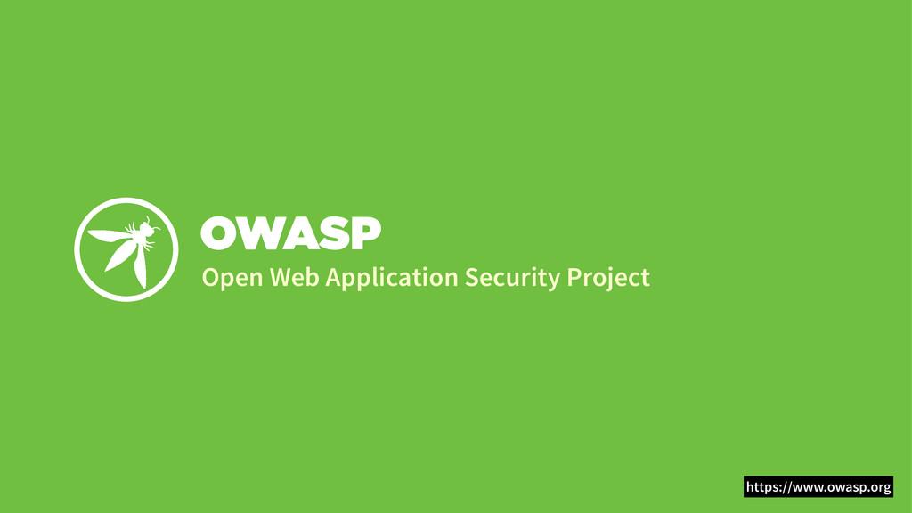 OWASP Open Web Application Security Project htt...