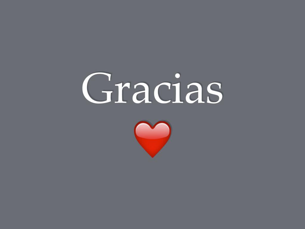 Gracias ❤