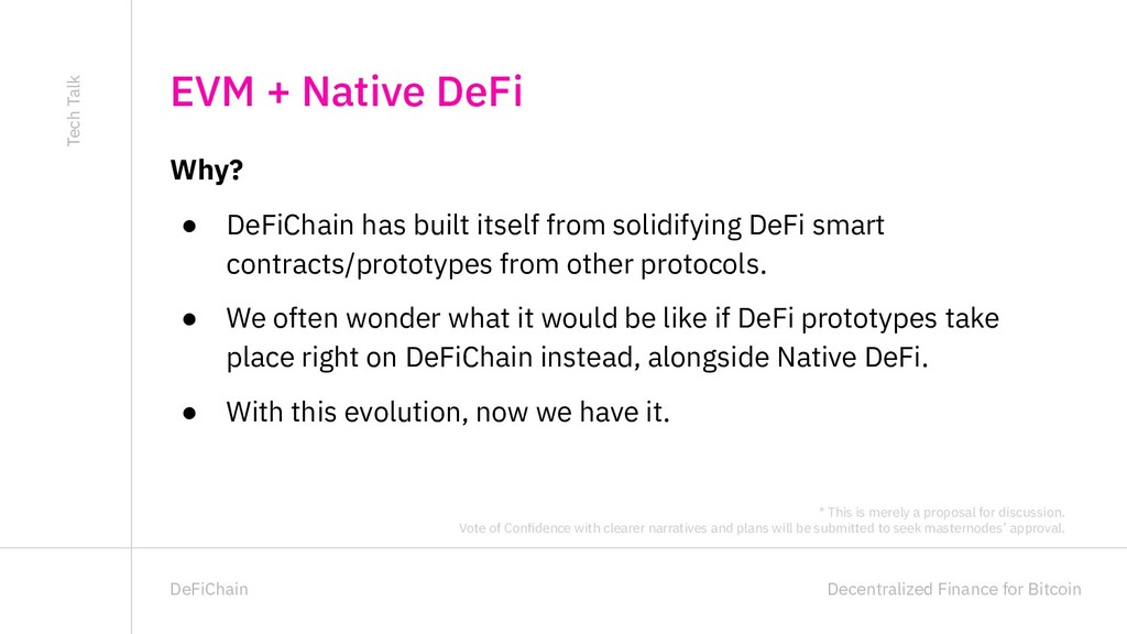 Decentralized Finance for Bitcoin DeFiChain Why...