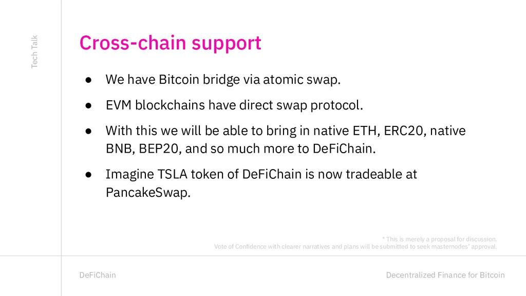 Decentralized Finance for Bitcoin DeFiChain ● W...