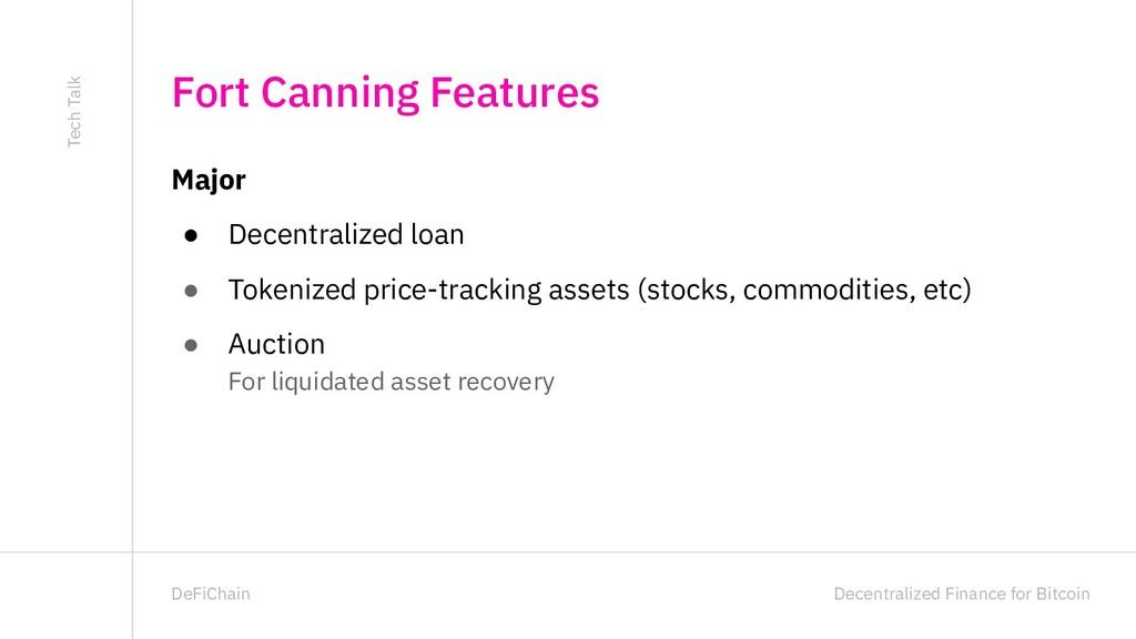 Decentralized Finance for Bitcoin DeFiChain Maj...