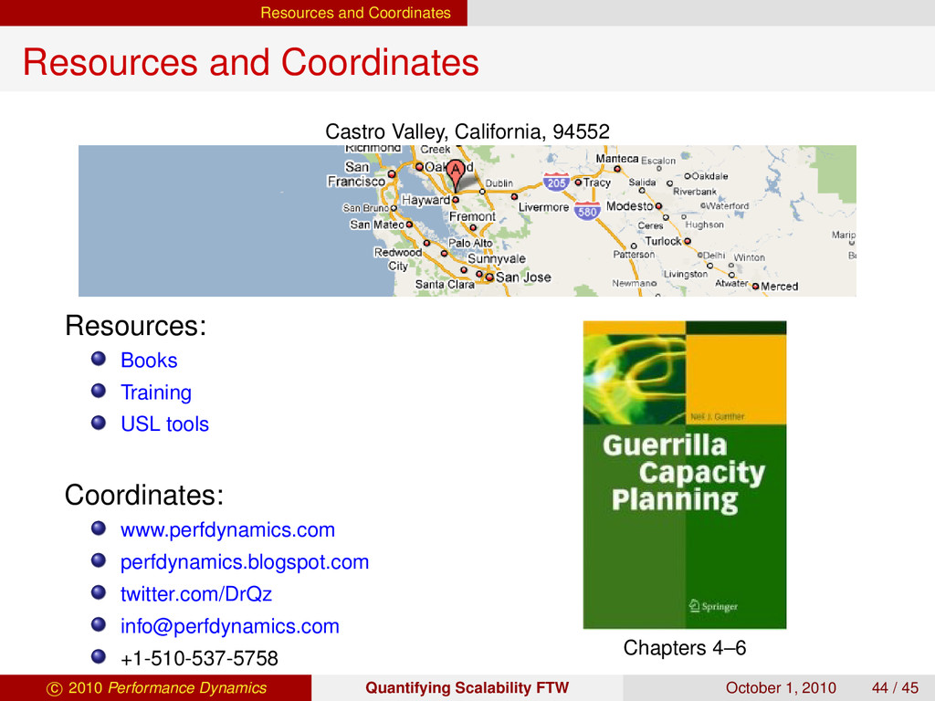 Resources and Coordinates Resources and Coordin...