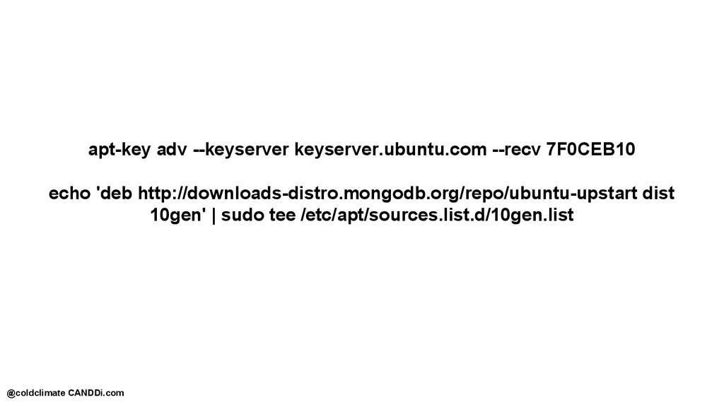 apt-key adv --keyserver keyserver.ubuntu.com --...