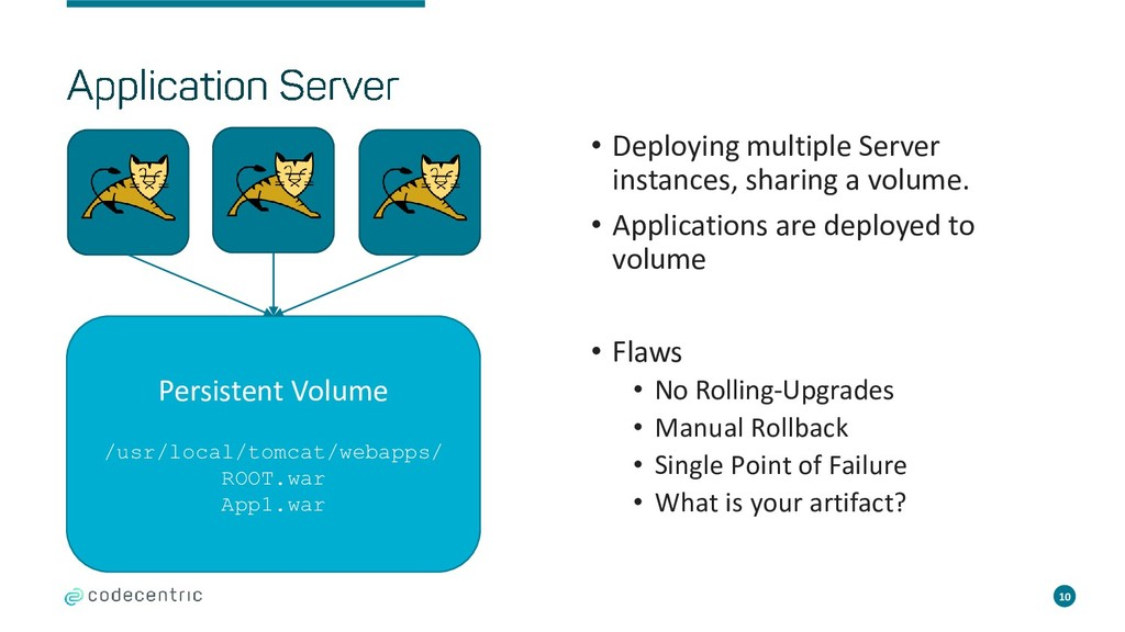 10 • Deploying multiple Server instances, shari...