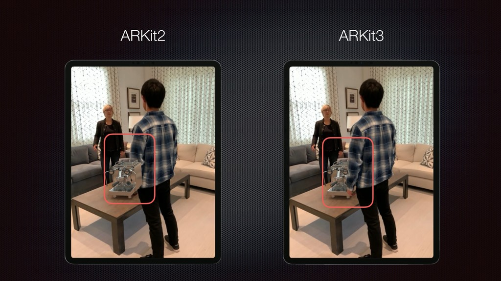 ARKit2 ARKit3
