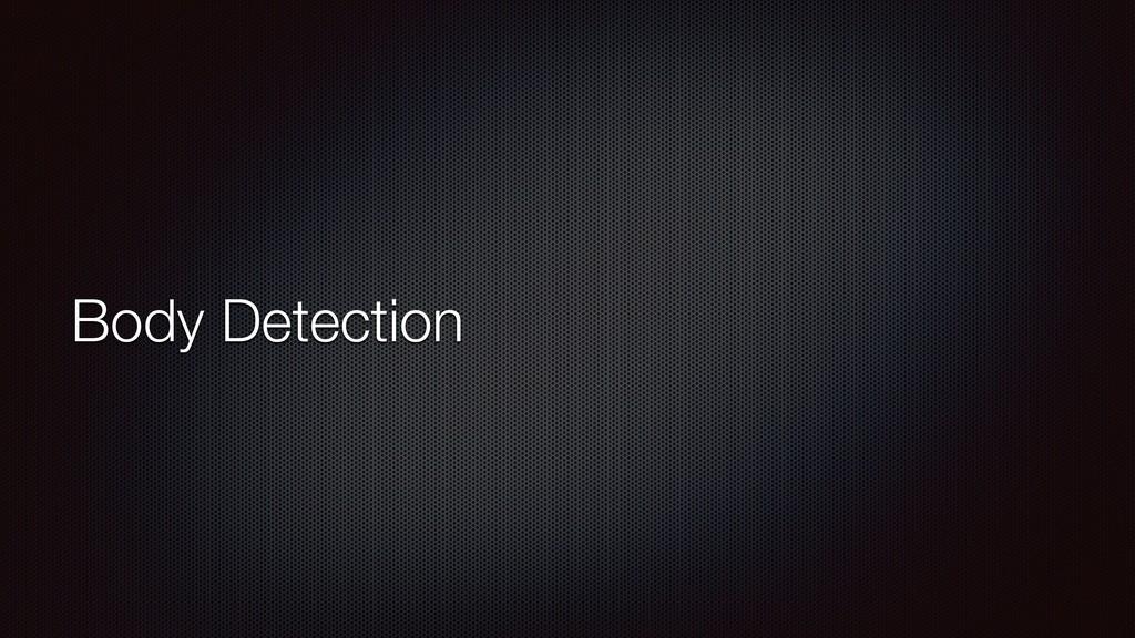 Body Detection