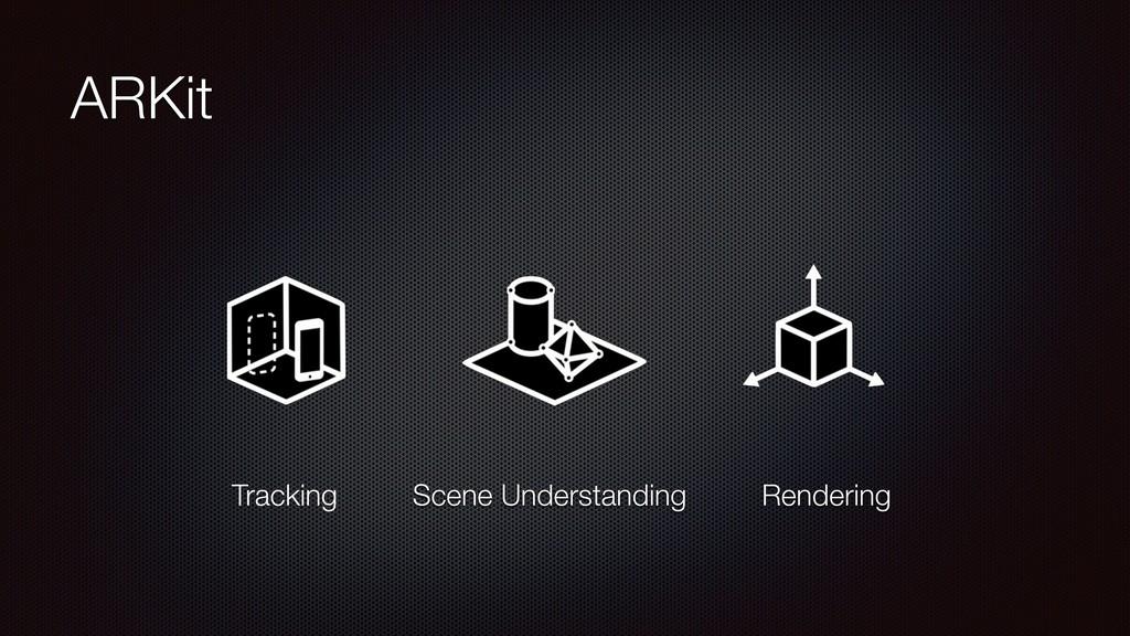 ARKit Tracking Scene Understanding Rendering