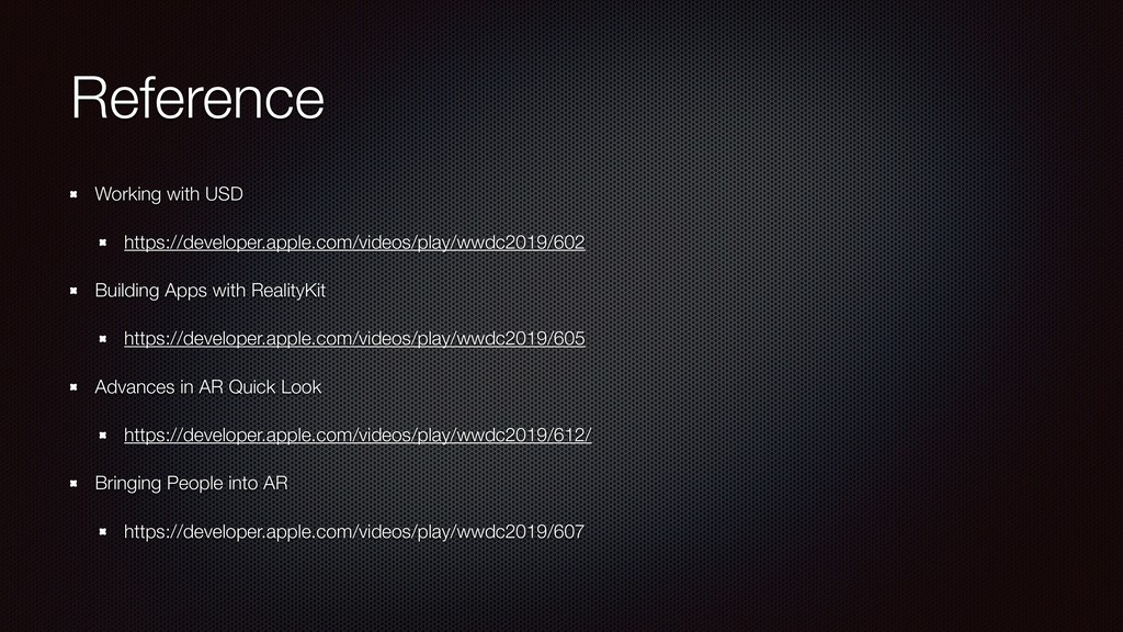 Reference Working with USD https://developer.ap...