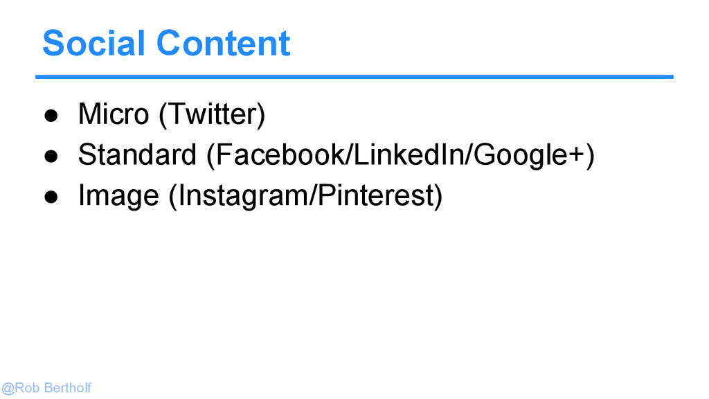 @Rob Bertholf ● Micro (Twitter) ● Standard (Fac...