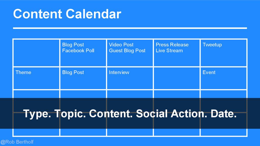 @Rob Bertholf Content Calendar Blog Post Facebo...