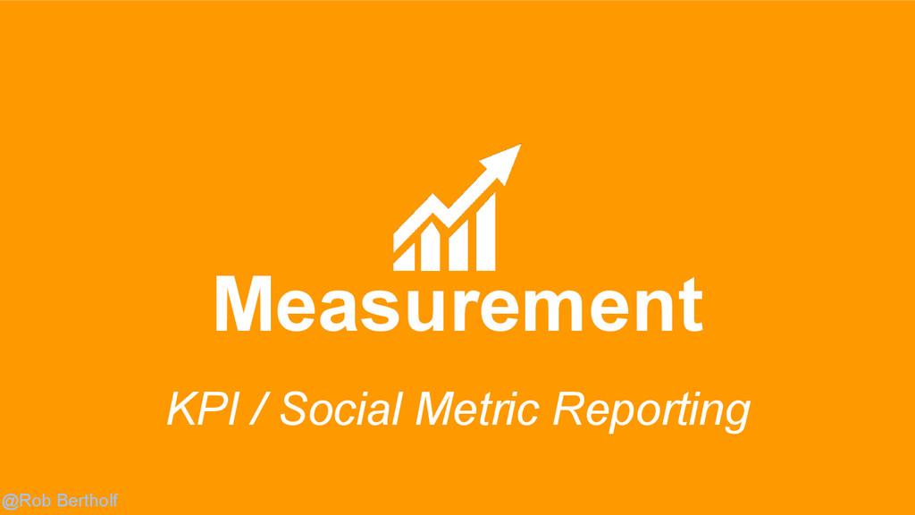 @Rob Bertholf Measurement KPI / Social Metric R...