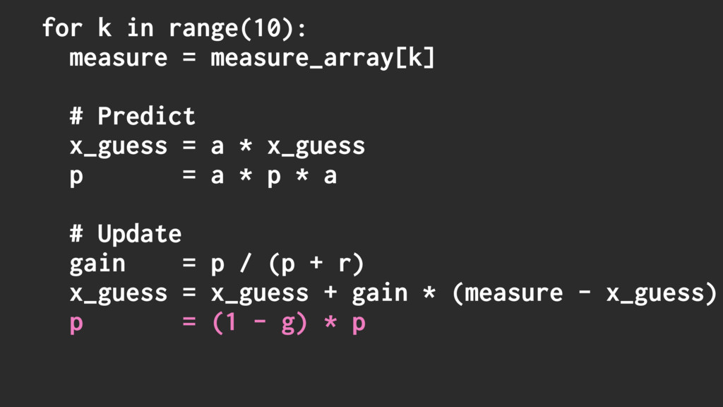 for k in range(10): measure = measure_array[k] ...
