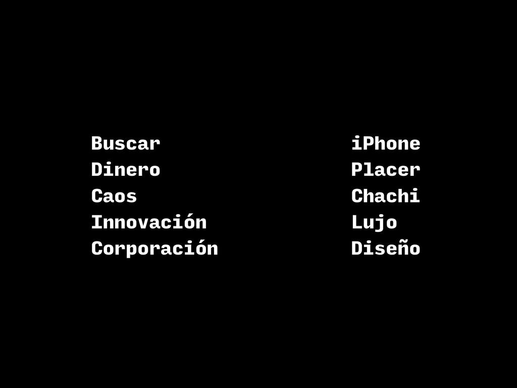 Buscar Dinero Caos Innovación Corporación iPhon...