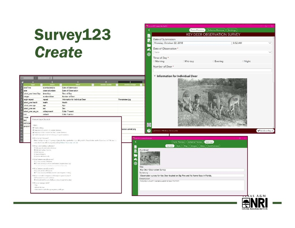 Survey123 Create