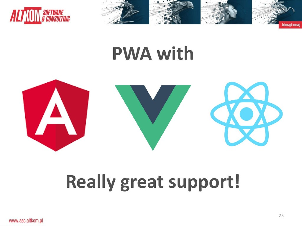 25 PWA with Really great support!