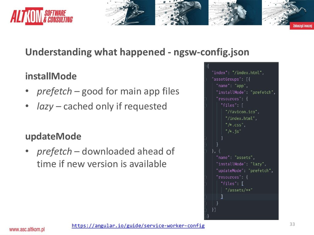 33 Understanding what happened - ngsw-config.js...