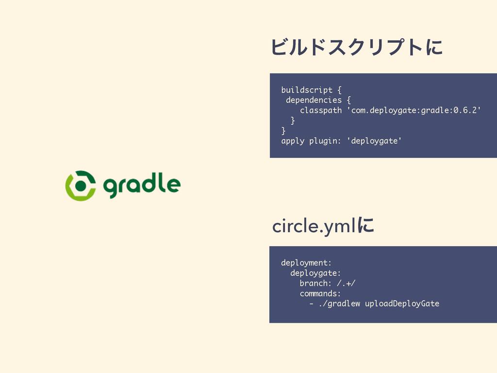 ϏϧυεΫϦϓτʹ buildscript { dependencies { classpat...