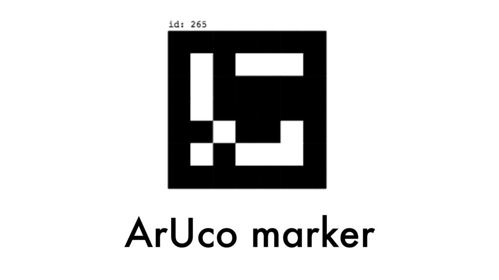 ArUco marker