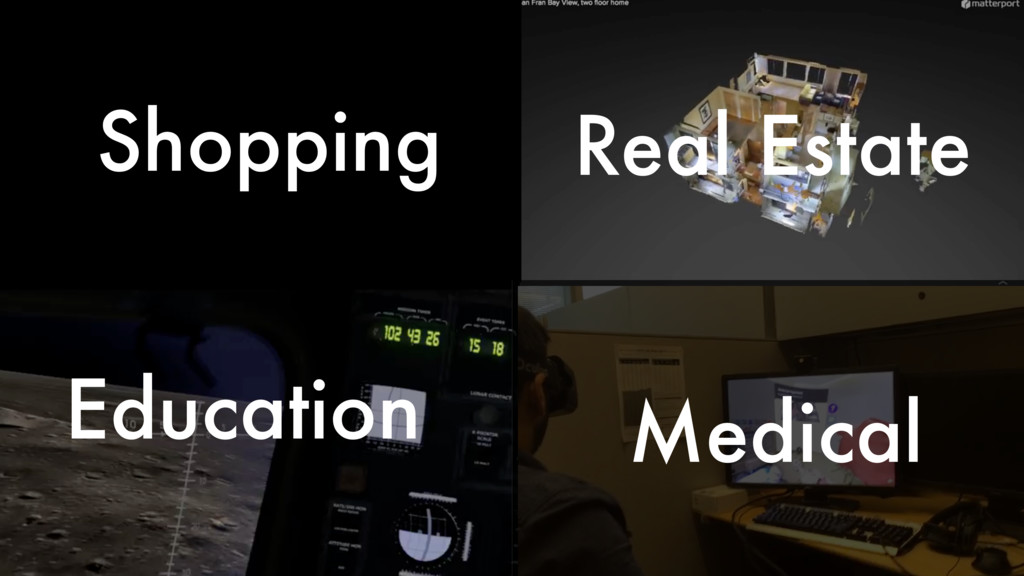 Shopping Real Estate Education Medical