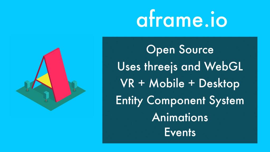 aframe.io VR + Mobile + Desktop Entity Componen...