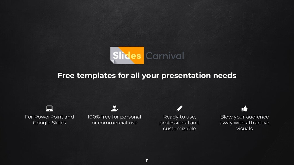 11 Free templates for all your presentation nee...