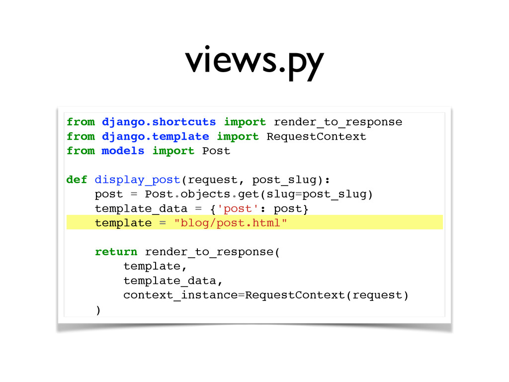 views.py from django.shortcuts import render_to...