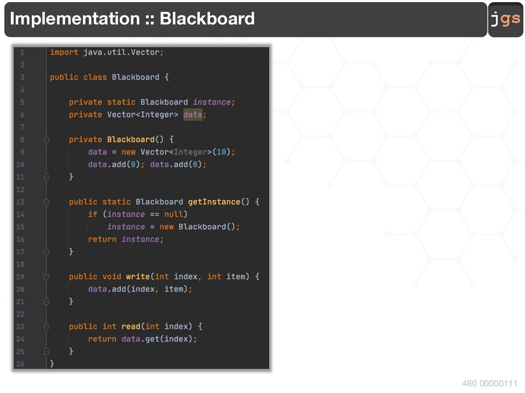 jgs 460 00000111 Implementation :: Blackboard