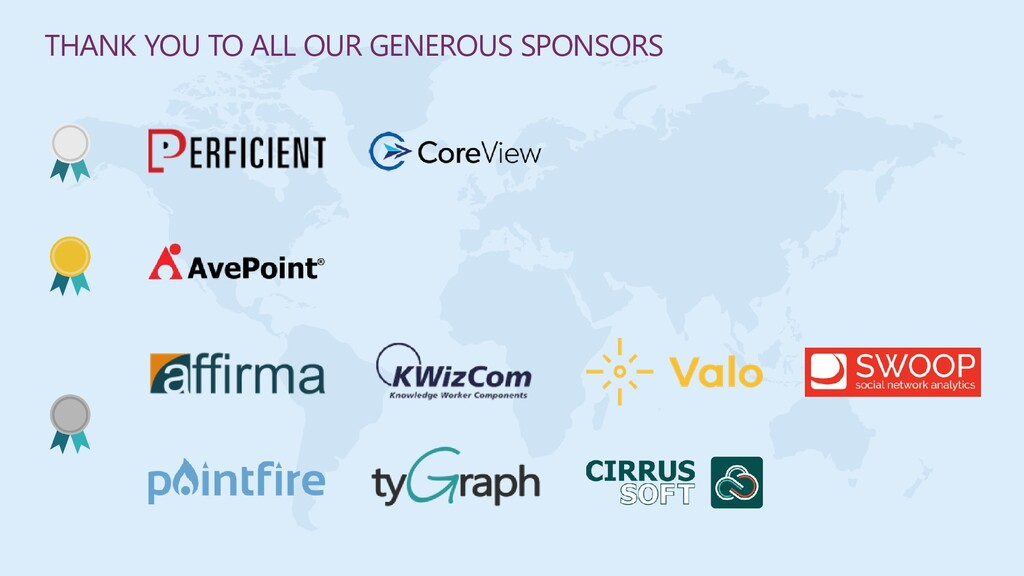 THANK YOU TO ALL OUR GENEROUS SPONSORS