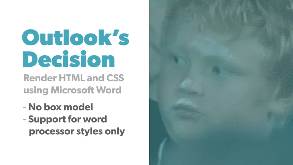 Outlook's Decision Render HTML and CSS using Mi...