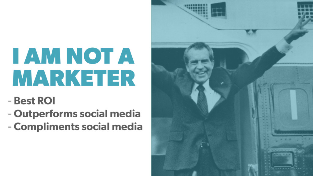 I AM NOT A MARKETER - Best ROI - Outperforms so...