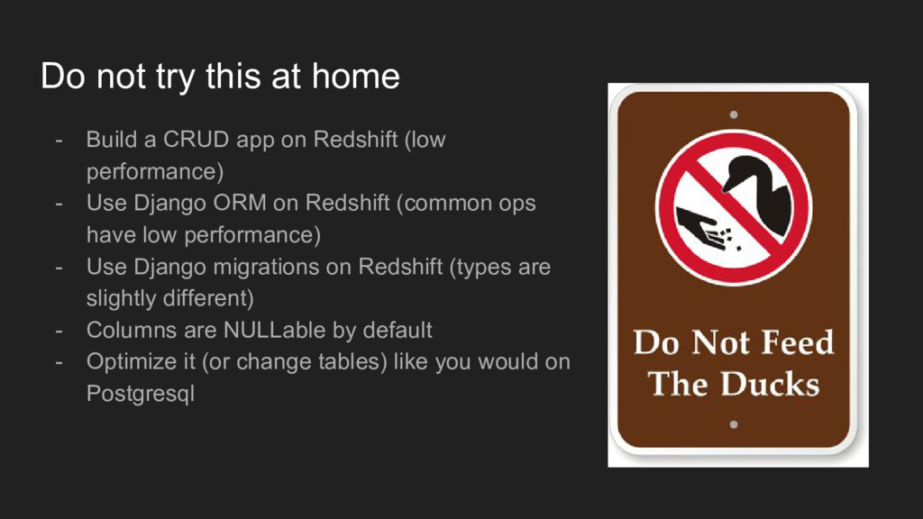 Do not try this at home - Build a CRUD app on R...