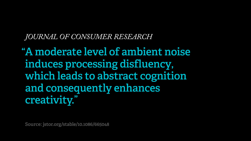 JOURNAL OF CONSUMER RESEARCH A moderate level o...