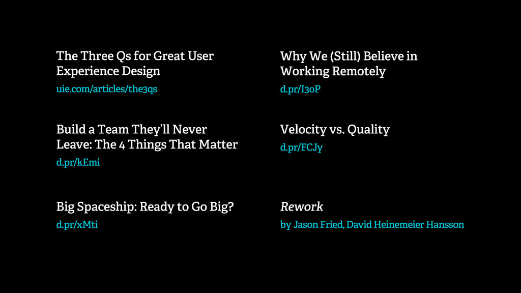 The Three Qs for Great User Experience Design u...