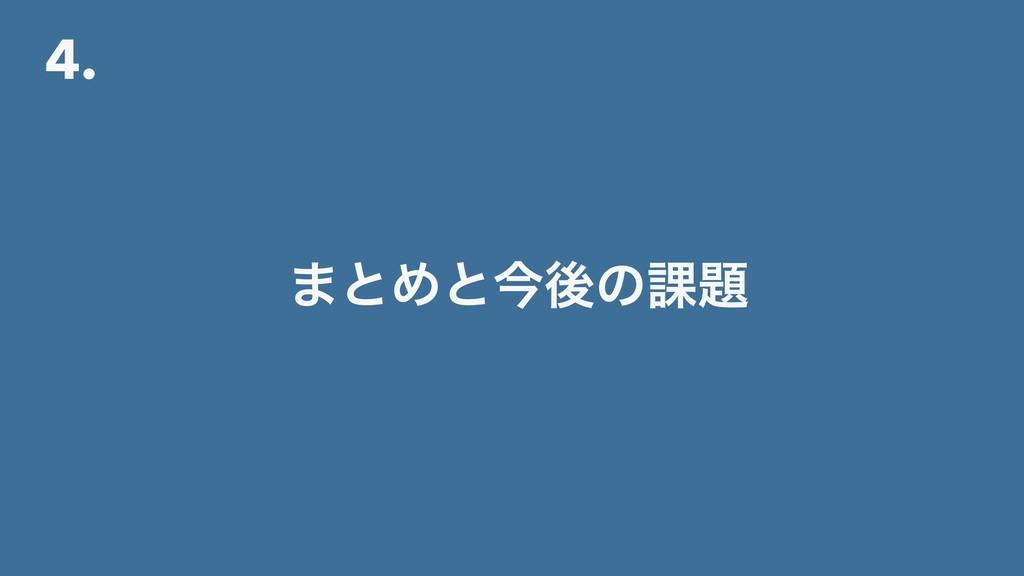 4. ·ͱΊͱࠓޙͷ՝