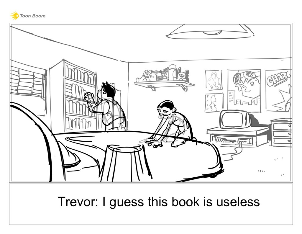 Trevor: I guess this book is useless