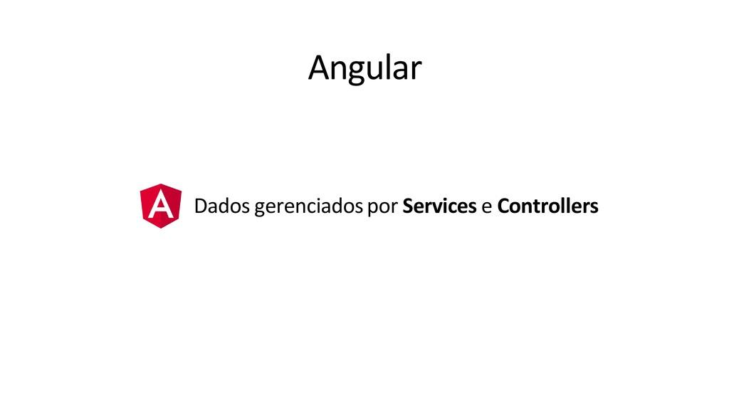 Angular Dados gerenciados por Services e Contro...