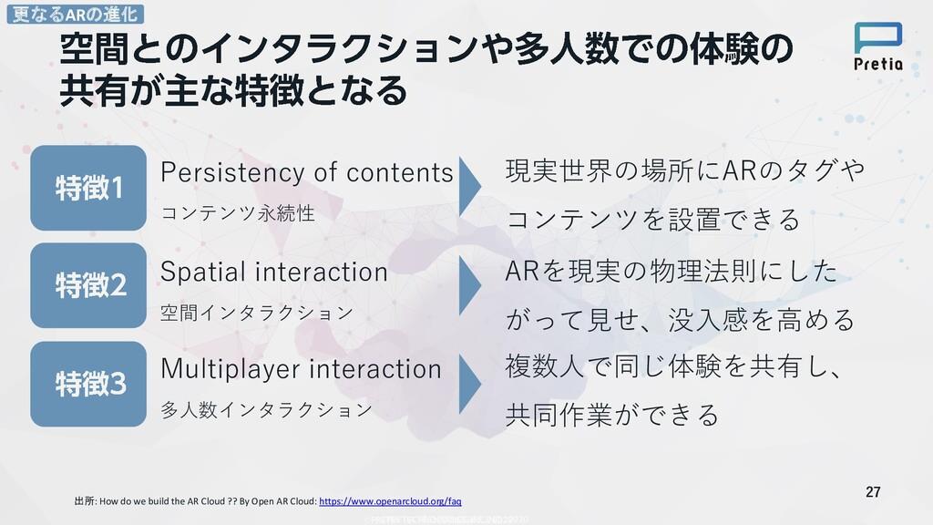 27 出所: How do we build the AR Cloud ?? By Open ...